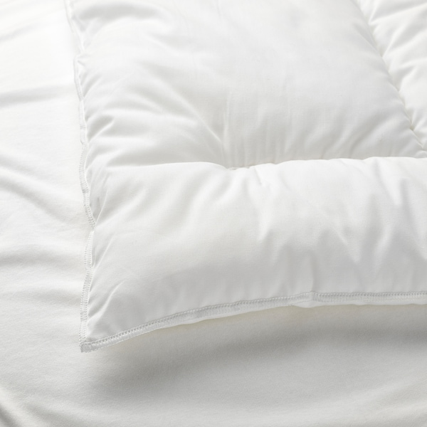 LEN مخدة لسرير طفل, أبيض, 35x55 سم