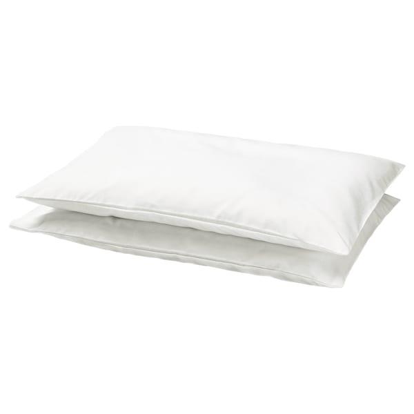 LEN Pillowcase for cot, white, 35x55 cm
