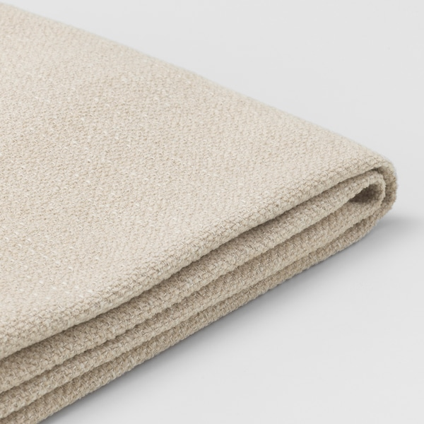 LIDHULT Cover f open end section w storage, Gassebol light beige