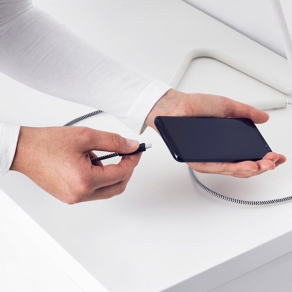 LILLHULT سلك USB-C إلى USB, 1.5 م