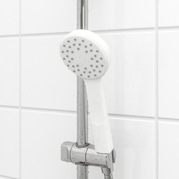 LILLREVET Single-spray handshower, white