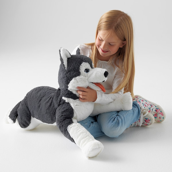 LIVLIG soft toy dog/siberian husky 57 cm