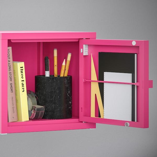 Lixhult Cabinet Metal Pink Ikea