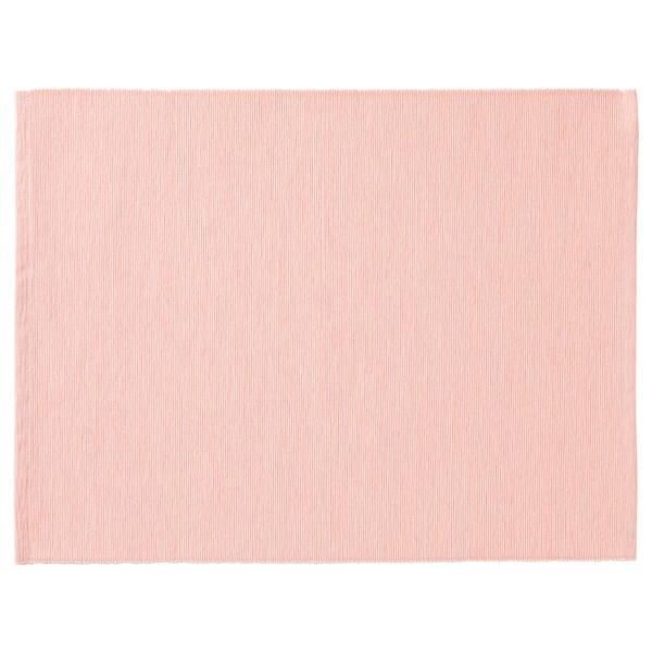 MÄRIT place mat pink 35 cm 45 cm