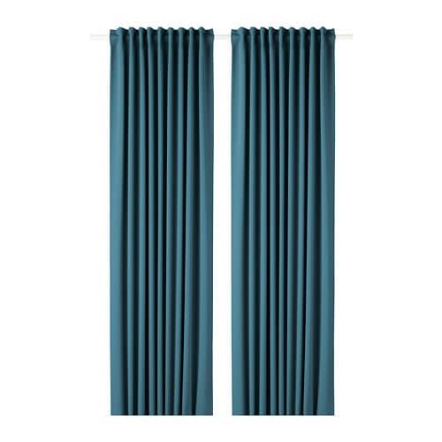 Majgull Block Out Curtains 1 Pair Ikea
