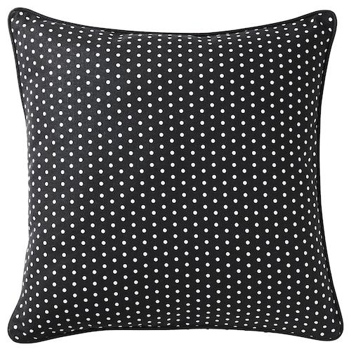 MALINMARIA cushion dark grey/white dotted 40 cm 40 cm 250 g 380 g
