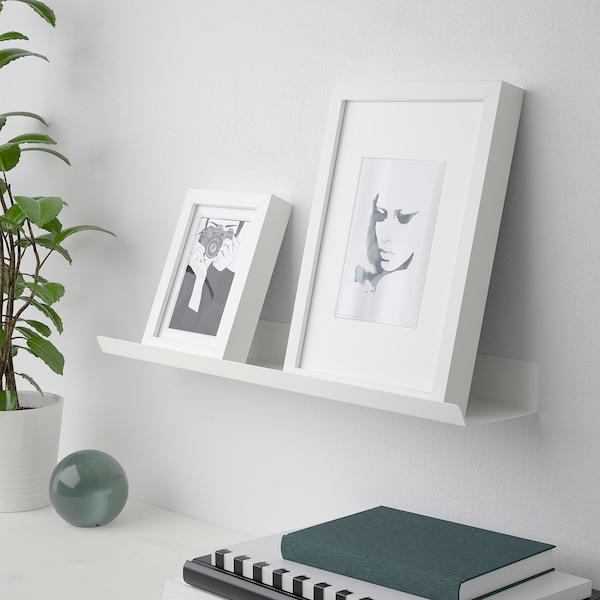 MALMBÄCK Display shelf, white, 60 cm