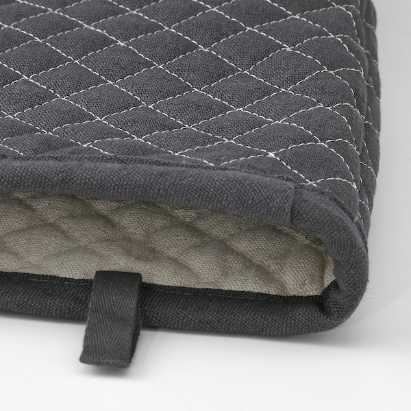 MARIATHERES Oven glove, grey