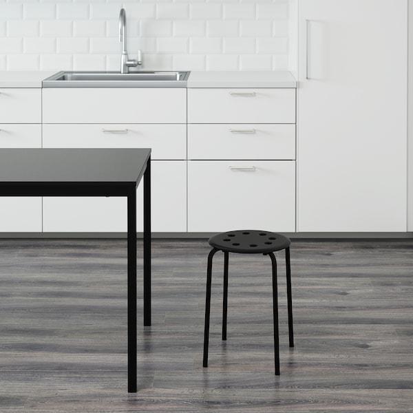 MARIUS مقعد, أسود, 45 سم