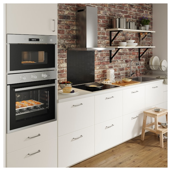 MATÄLSKARE Forced air oven, stainless steel colour