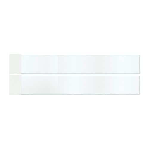 MAXIMERA Add-on side for drawer, medium, glass