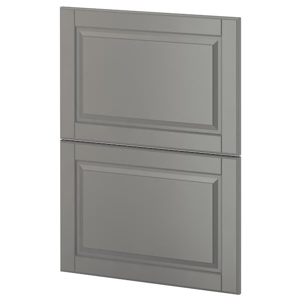 METOD 2 fronts for dishwasher, Bodbyn grey, 60 cm