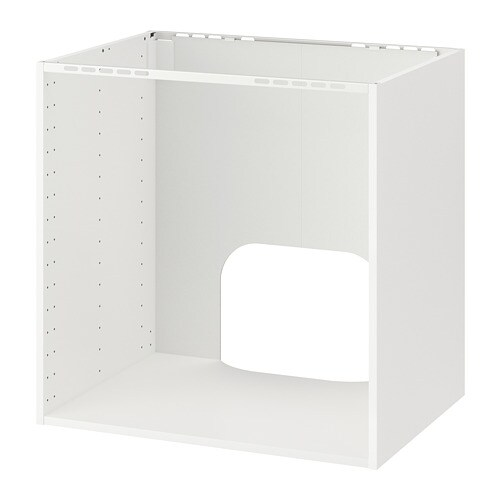 Metod Base Cabinet For Built In Oven Sink White