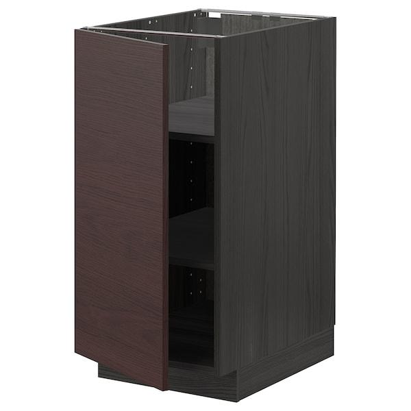METOD وحدة تخزين ارضية مع رفوف