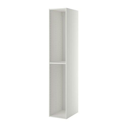 METOD High cabinet frame, white