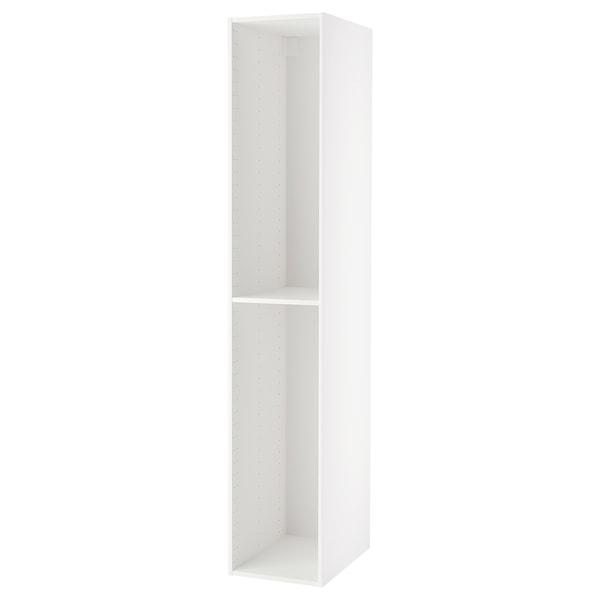 METOD اطار خزانة علوية, أبيض, 40x60x220 سم