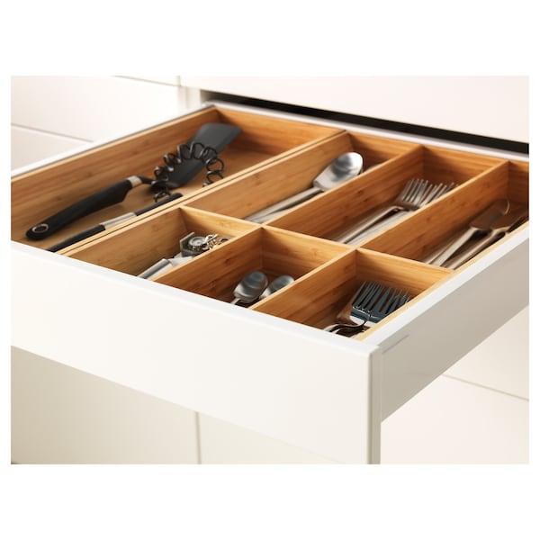 METOD / MAXIMERA Base cab f hob/drawer/2 wire bskts, white/Bodbyn grey, 60x60 cm