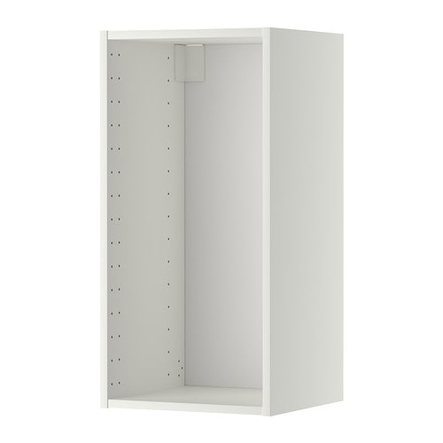 METOD Wall cabinet frame, white