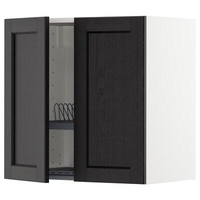 METOD خزانة حائط مع مصرف صحون / بابين.