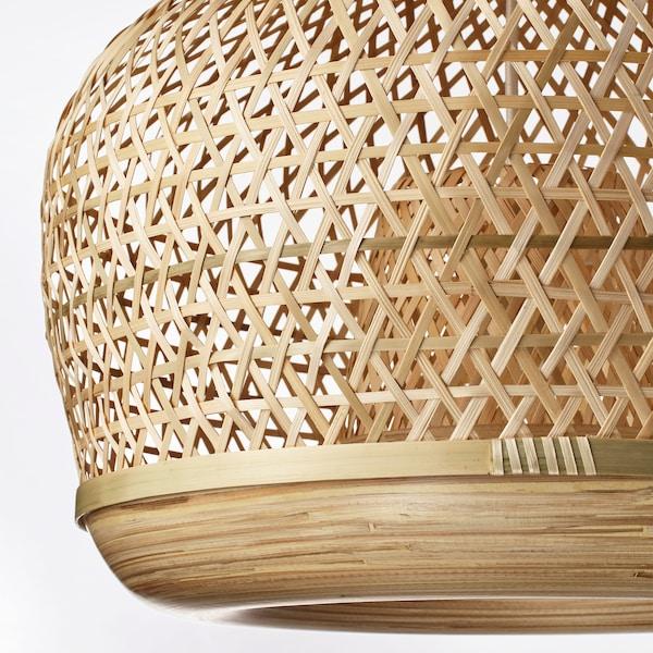 MISTERHULT Pendant lamp, bamboo, 45 cm