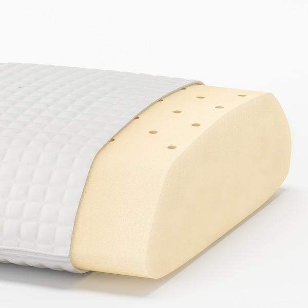 MJÖLKKLOCKA وسادة مريحة، لمن ينام على جنبه/ظهره, 41x71 سم