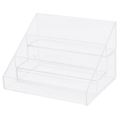 MOJAN Nail polish stand, 3 comp/1 drawer, 16.5x12.5 cm