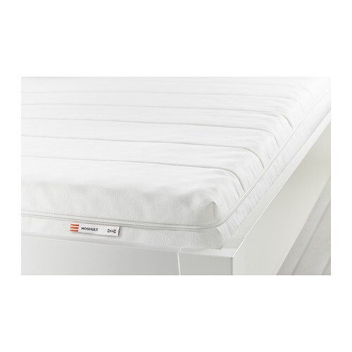 MOSHULT Foam mattress, firm, white
