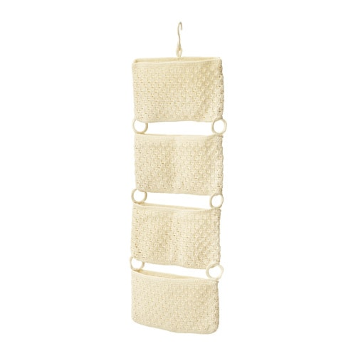 NORDRANA Hanging storage, off-white