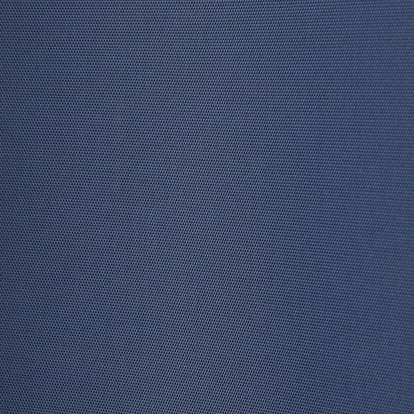 NYCKELN Shower curtain, white/dark blue, 180x200 cm