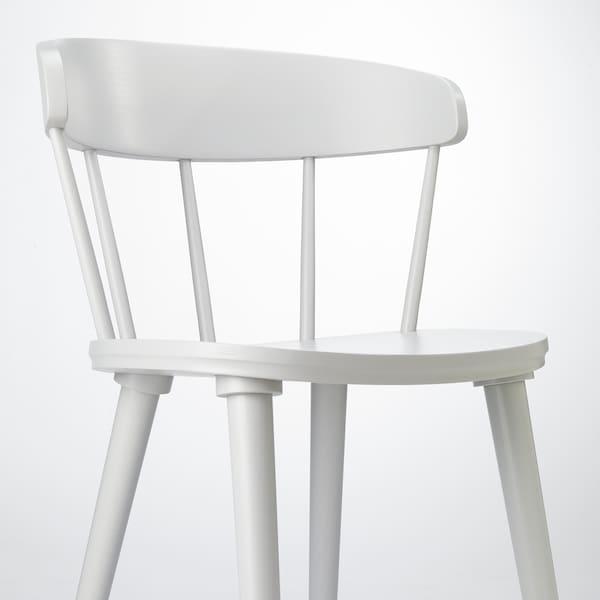 OMTÄNKSAM chair light grey 53 cm 50 cm 79 cm 45 cm 43 cm 47 cm