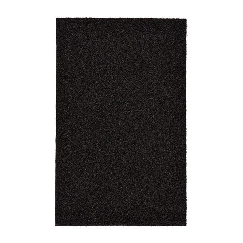 OPLEV Door mat, in/outdoor black