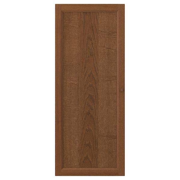 OXBERG باب, بني قشرة خشب الدردار, 40x97 سم