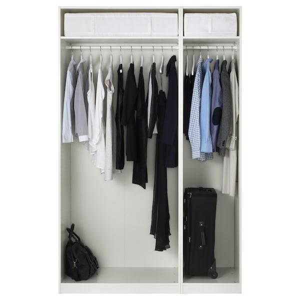 PAX دولاب ملابس, أبيض/Forsand أبيض, 150x60x236 سم