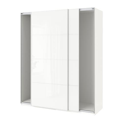 Armadio Ikea Pax 4 Ante.Pax Wardrobe With Sliding Doors Ikea