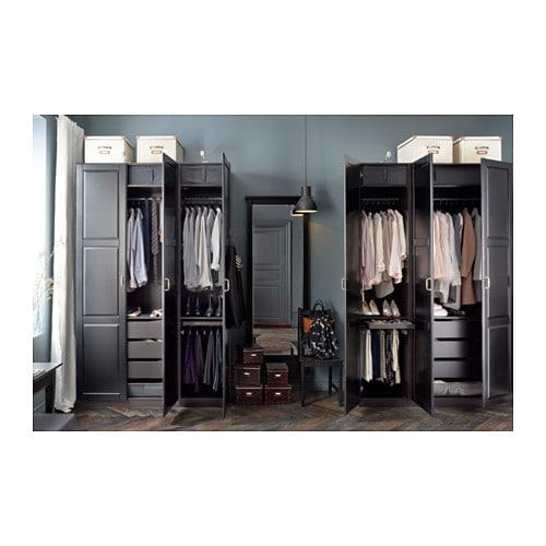 PAX Wardrobe Standard Hinges IKEA - Ikea wardrobe
