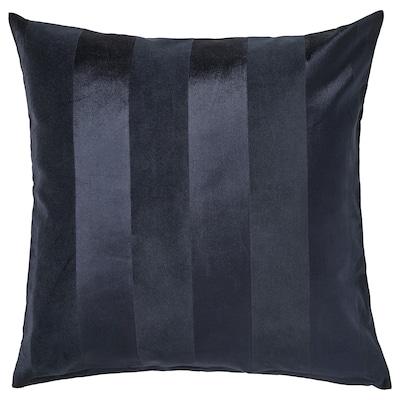 PIPRANKA غطاء وسادة, أزرق غامق, 50x50 سم