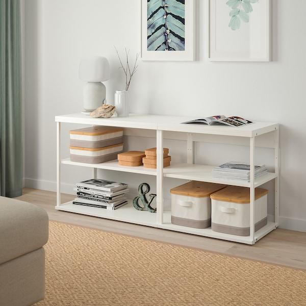 Platsa Open Shelving Unit White Ikea