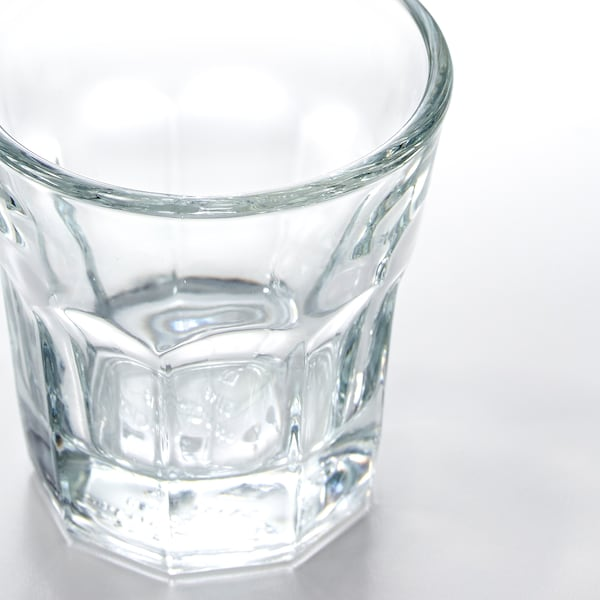 POKAL snaps glass clear glass 5 cm 5 cl 6 pack