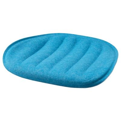 PYNTEN Seat pad, blue, 41x43 cm
