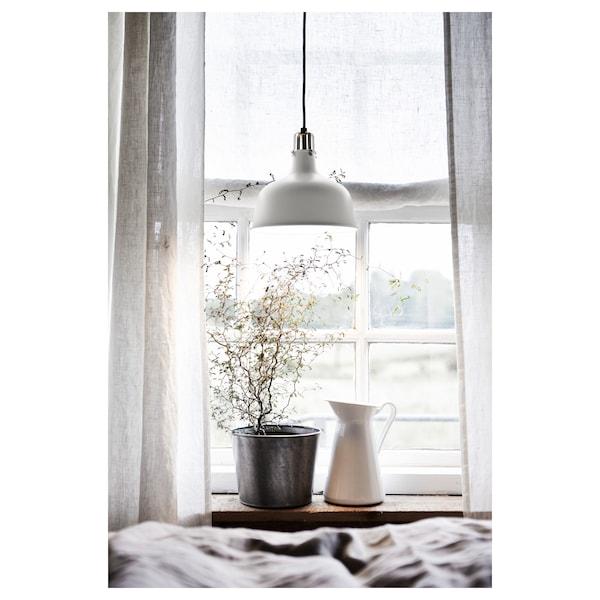 RANARP مصباح معلّق, أبيض-عاجي, 23 سم