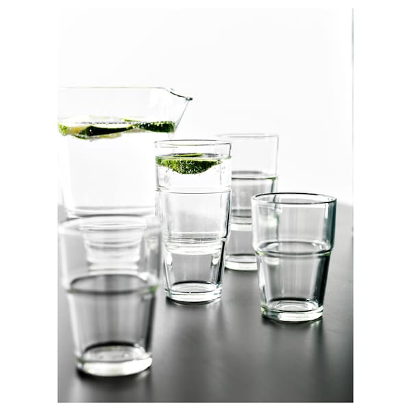 REKO glass clear glass 9 cm 17 cl 6 pack