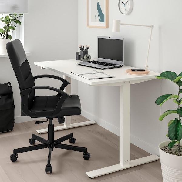 RENBERGET swivel chair Bomstad black 110 kg 59 cm 65 cm 108 cm 49 cm 42 cm 45 cm 57 cm