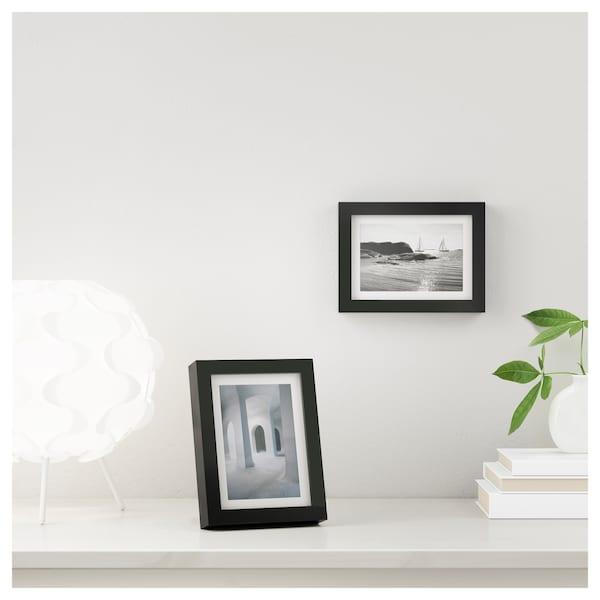 RIBBA Frame, black, 10x15 cm