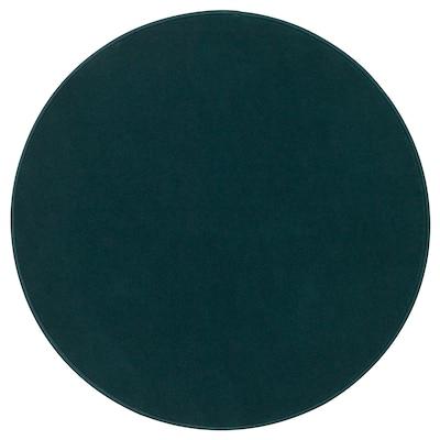 RISGÅRDE Rug, low pile, green, 70 cm