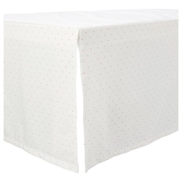 RÖDHAKE 3-piece bedlinen set for cot, sailing mouse, 60x120 cm