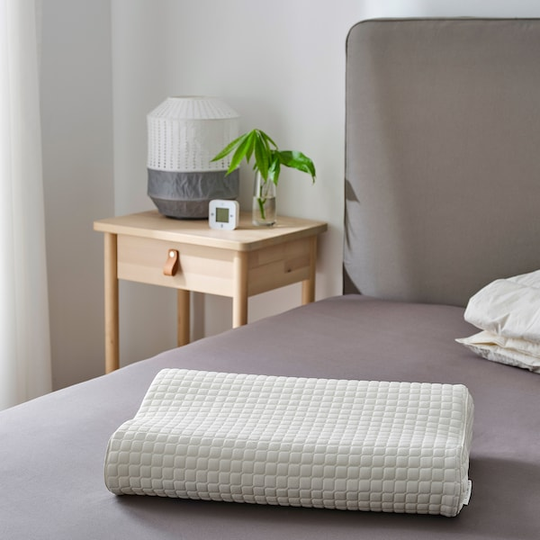 ROSENSKÄRM Ergonomic pillow, side/back sleeper, 33x50 cm