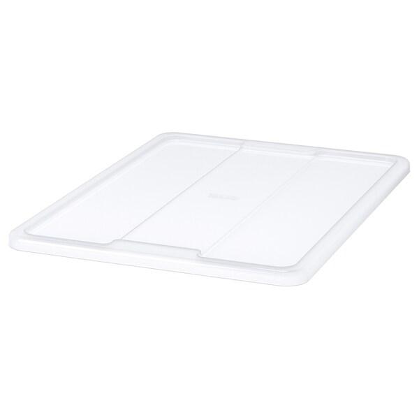 SAMLA غطاء لصندوق 45/65 لتر, شفاف