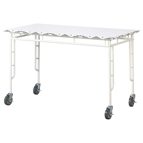 SAMMANKOPPLA table white/black 120 cm 60 cm 75 cm