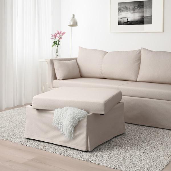 SANDBACKEN corner sofa-bed Lofallet beige 212 cm 69 cm 78 cm 149 cm 70 cm 33 cm 140 cm 200 cm