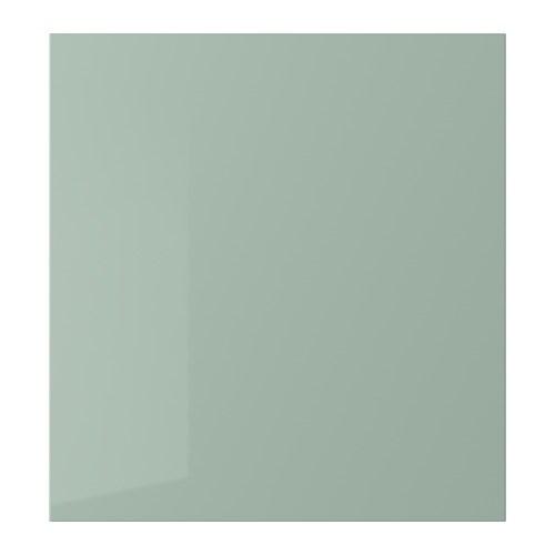 Selsviken Door High Gloss Light Grey Green